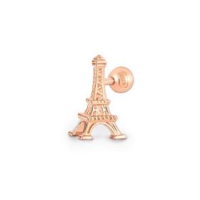 14K Eiffel Tower Piercing