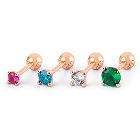 14K Rainbow piercing [4 families 1]