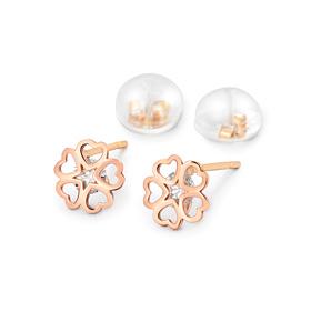 14K stars love earring