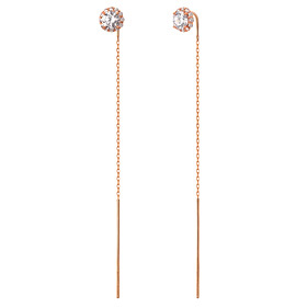 14K Imperial Long Earrings