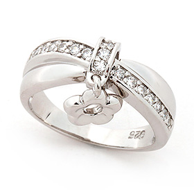 Silver Rumi Silver Ring