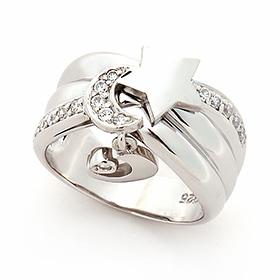 Silver Moonlight Silver Ring