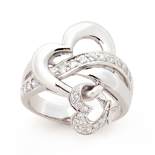 Silver Cupid Silver Ring