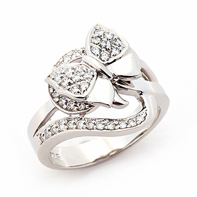 Silver Vanessa Silver Ring