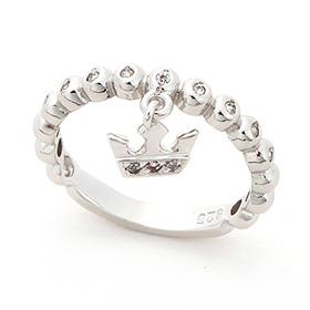 Silver Aida Silver Ring