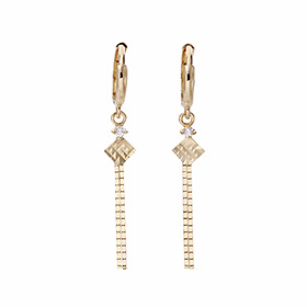 14K / 18K lamb bus earring [overnightdelivery]