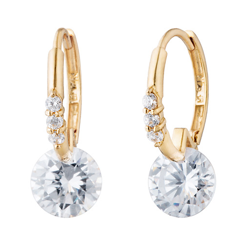14K / 18K Glitter earring [overnightdelivery]