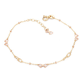 18K Ribbon Dress bracelet [overnightdelivery]