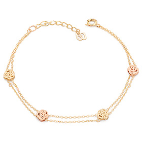 14K / 18K edge rose bracelet [overnightdelivery]