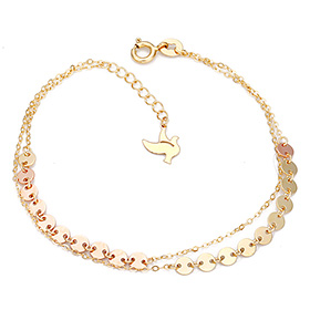 14K / 18K Beauty Dove bracelet