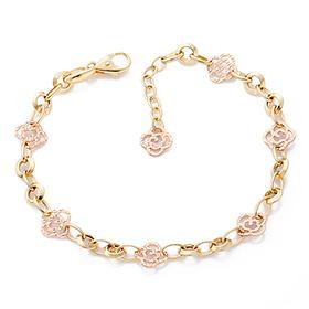 14K / 18K Shine Rose bracelet