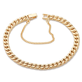14K / 18K hollow curves JB174 bracelet