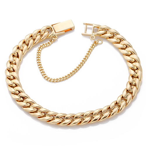 14K / 18K hollow curves JB175 bracelet