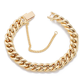 14K / 18K hollow curves JB176 bracelet