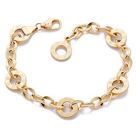 14K / 18K flower ring bracelet