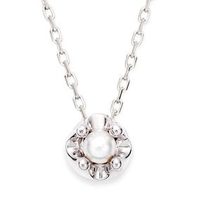 June birthstone 3mm natural pearl necklace Tiara