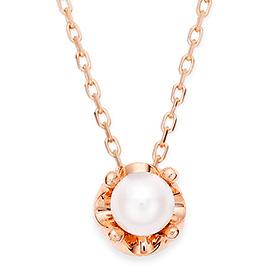 June birthstone 4mm natural pearl necklace Tiara