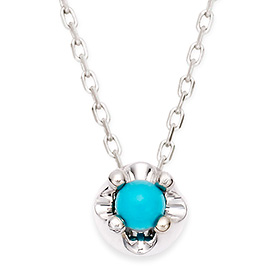 December Birthstone 3mm Natural Turquoise Tiara Necklace