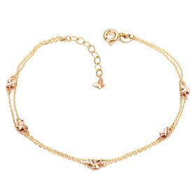 14K / 18K Sparkling Butterfly Bracelet