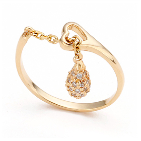 14K / 18K Heart Ring Gold Ring
