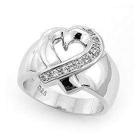 Silver Heartline Women's Silver