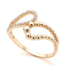 14K / 18K Elena Gold Ring