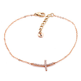 14K / 18K sexy cross bracelet