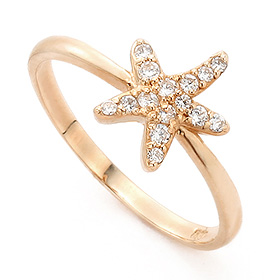 14K / 18K Asteri Gold Ring