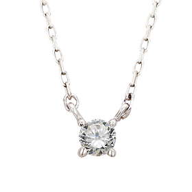 "<b><font color=""b400b0"" >[Part 1 Contemporary Emotion]</font></b> <br> 14K / 18K crown natural diamond all-in-one necklace"