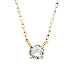 "<b><font color=""008997"" >[Part 2 Modern Emotions]</font></b> <br> 14K / 18K crown natural diamond integrated necklace"