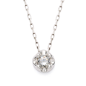 "<b><font color=""b400b0"" >[Part 1 Contemporary Emotion]</font></b> <br> 14K / 18K Tiara Natural Diamond Necklace"