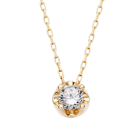 "<b><font color=""008997"" >[Part 2 Contemporary Emotion]</font></b> <br> 14K / 18K Tiara Natural Diamond Necklace"