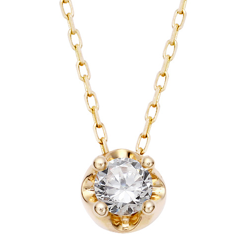 "<b><font color=""008997"" >[Part 2 Contemporary Emotion]</font></b> <br> 14K / 18K Tiara Natural Diamond Necklace"