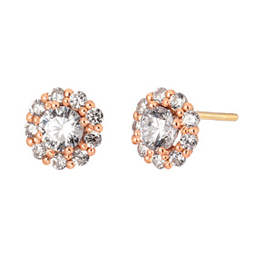 14K quince earring