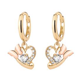 14K / 18K Tinkerbell earring [overnightdelivery]
