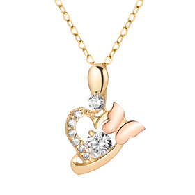 14K / 18K Tinkerbell Necklace [overnightdelivery]