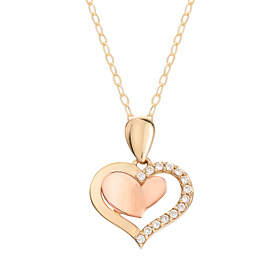14K / 18K Barbie Love Necklace [overnightdelivery]
