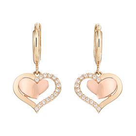 14K / 18K Barbie Love earring [overnightdelivery]
