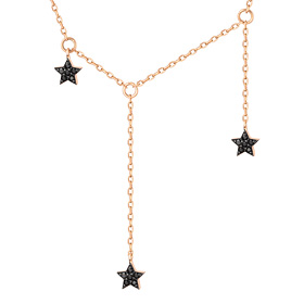 14K / 18K Triple Star Necklace