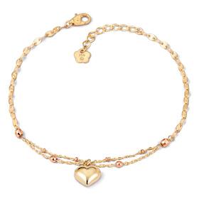 14K / 18K Marine Heart bracelet