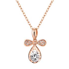 14K / 18K Bird Drop Necklace