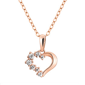 14K / 18K Baby Heart Necklace [overnightdelivery]