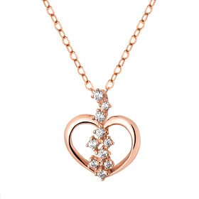 14K / 18K Heart Seed Necklace [overnightdelivery]