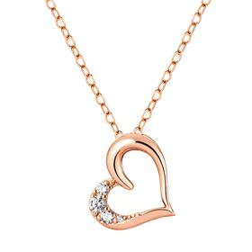 14K / 18K Love Chu Necklace [overnightdelivery]