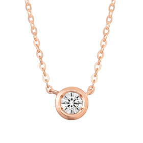 "<b><font color=""b400b0"" >[Part 1 Contemporary Emotion]</font></b> <br> 14K18K Moon River Part 1 Diamond Necklace"