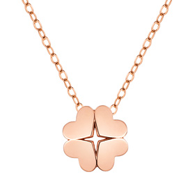 14K / 18K Starlight Clover Necklace