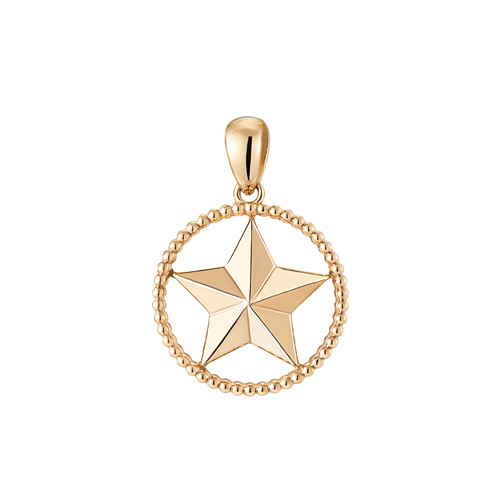 14K / 18K Bubble Star Pendants purchase only