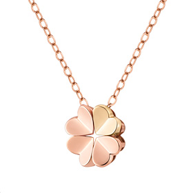 14K / 18K Love Clover Necklace [overnightdelivery]