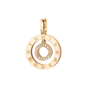 14K / 18K Rome Circle Pendants purchase only