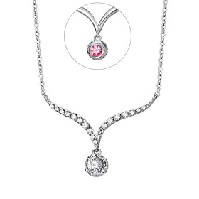 14K / 18K Briand wedding necklace [swarovski]